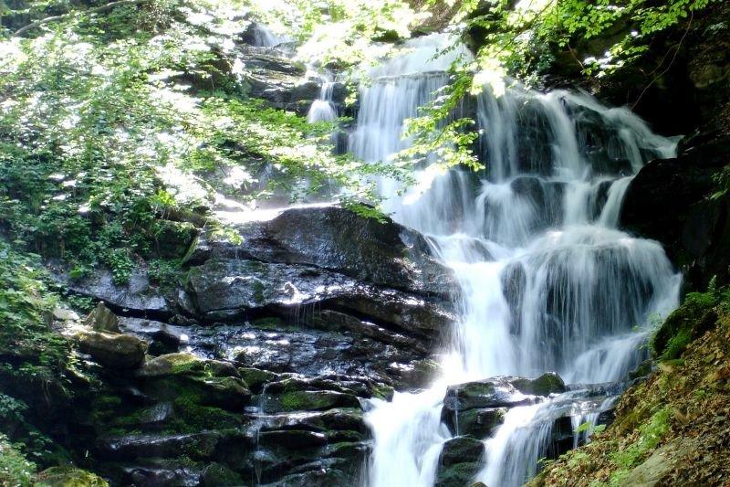 Водопад Шипот в с. Пилипец - Колочава
